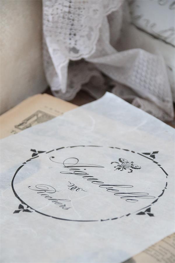 Jeanne d 39 arc living schablone stencil corner flower shabby for Wohnaccessoires wohnraumdeko