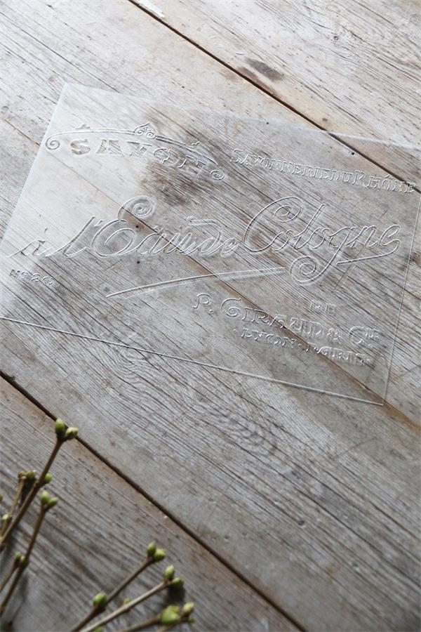 Jeanne d 39 arc living schablone stencil savon shabby chic for Wohnaccessoires wohnraumdeko
