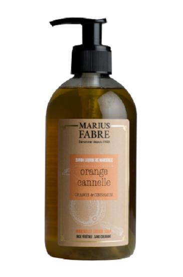 Marius Fabre 400 ml Flüssigseife Orange Zimt / Ecorces orange et cannelle
