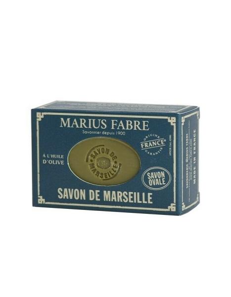 Nature 150 g Savon de Marseille Marius Fabre ovale Marseiller Olivenöl Seife, handlich