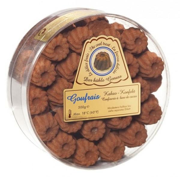 Goufrais Gugelhupf 2 x 500 g Rundbox Schokoladen-Gugelhupfe