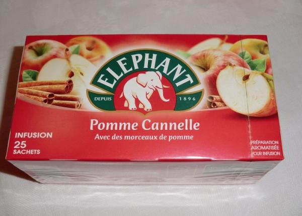 Elephant Tee Pomme Cannelle / Apfel Zimt 25 Sachets / 55 g