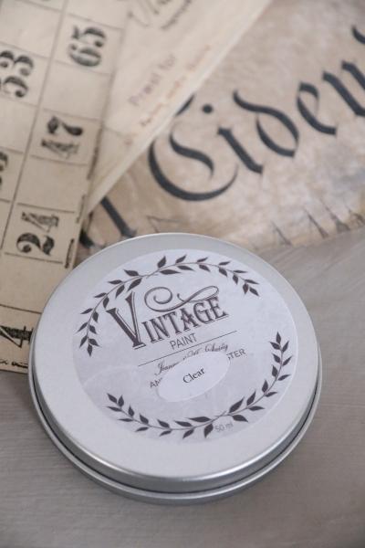 Jeanne d'Arc Living 50 ml Antique Wax Clear - Vintage Paint Antikwachs