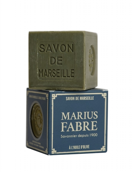 "Nature 10 x 400 g Marseiller Seife, ""Le Cube"", der Würfel v. Marius Fabre"