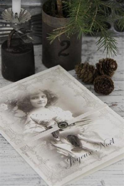 Jeanne d'Arc Living Weihnachtskarte - Joyeux Noel