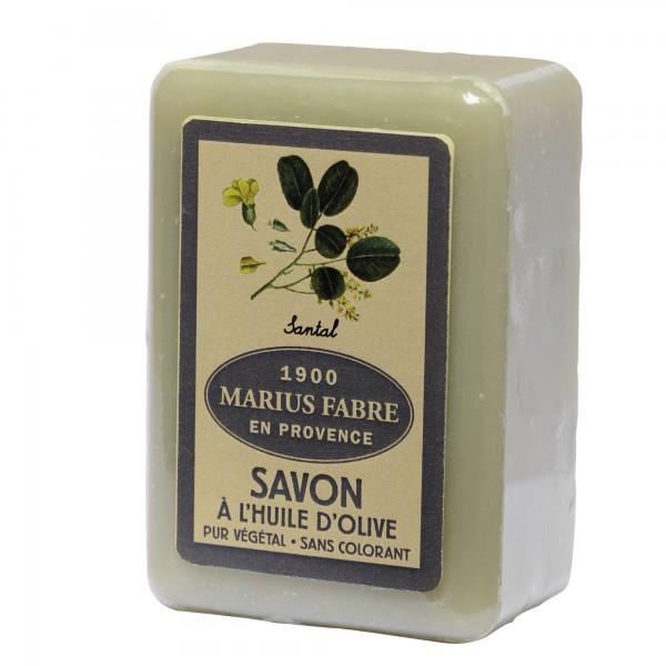 Marius Fabre 6 x 150 g Stück Seife Sandelholz / Santal Olivenölseife