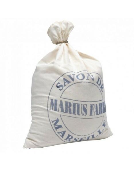 Nature 5 kg Seifenflocken Marseiller Art Marius Fabre im dekorativen Baumwollsack